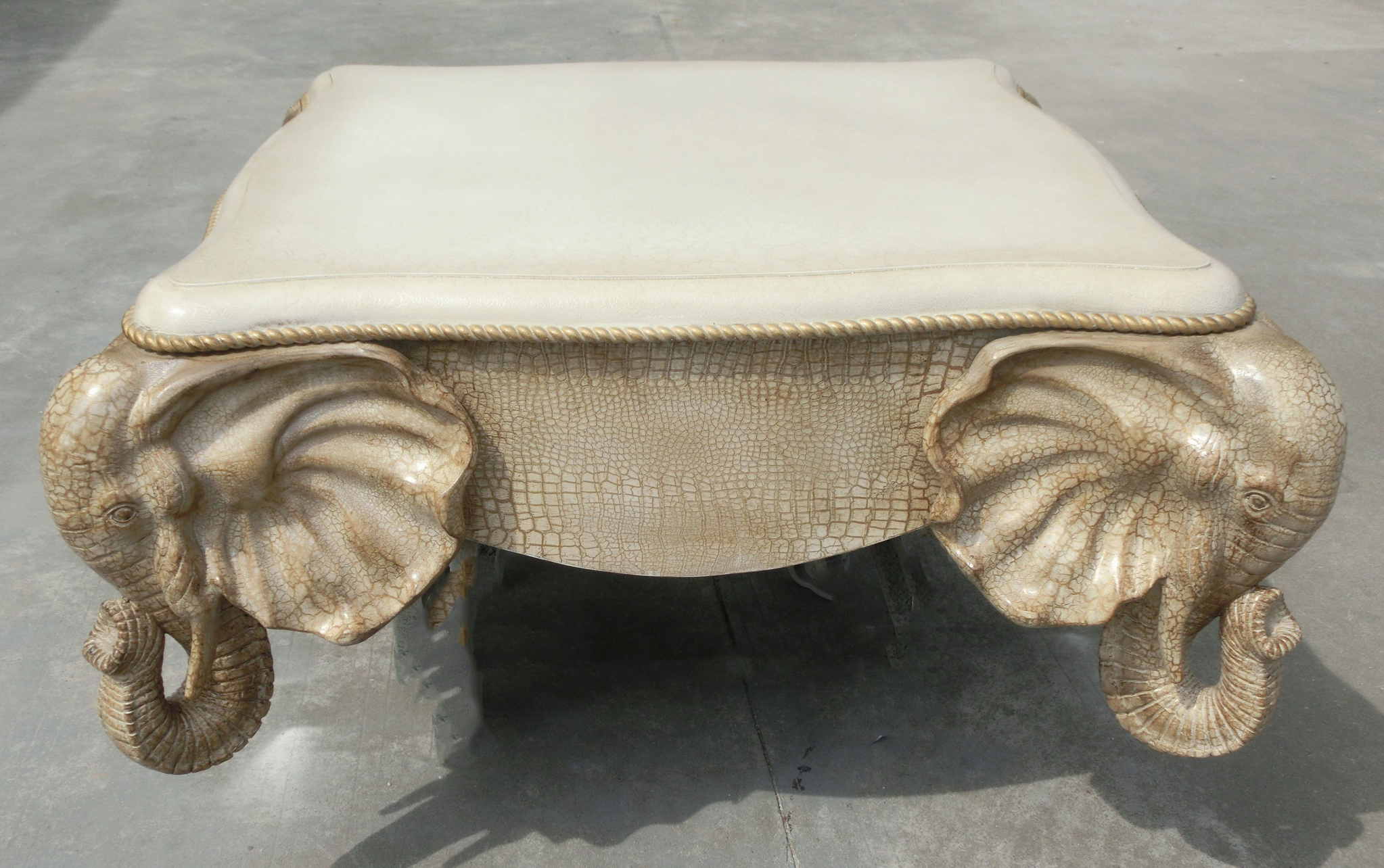 Elephant coffee table winston sahd Elephant coffee table