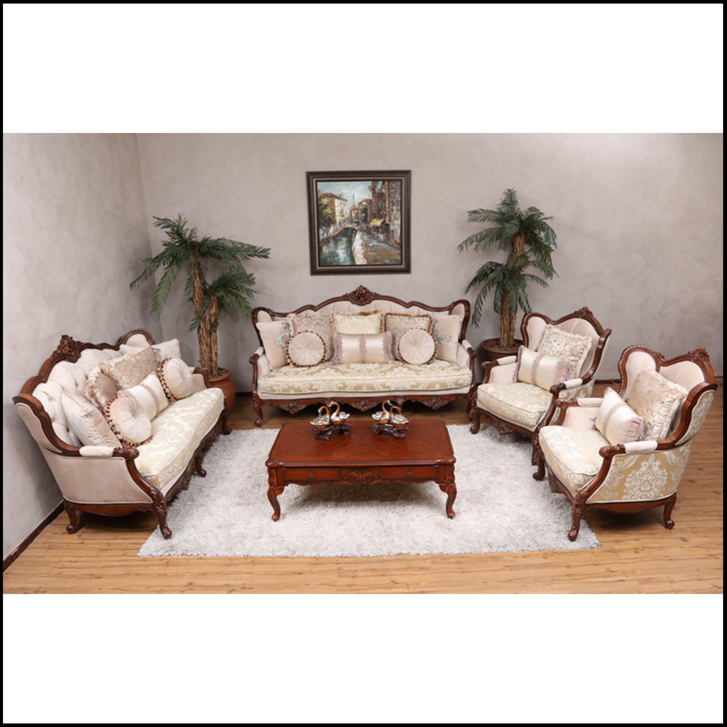 Home Furniture Prices: Winston F096B 3 Piece Lounge Suite